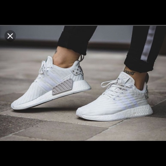 d386829ef6c37 adidas Shoes - adidas NMD R2 W Clear Granite  Vintage White